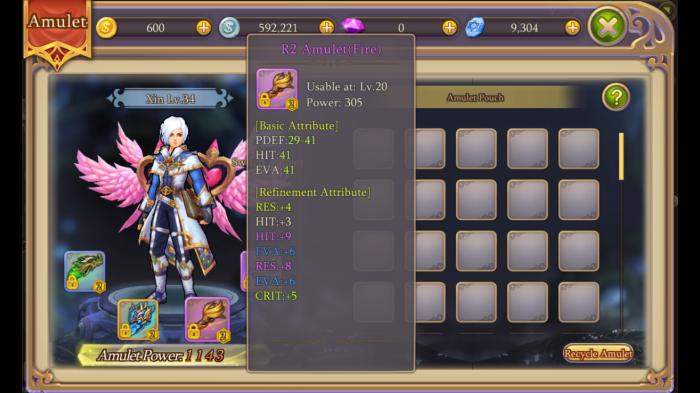 Amulet System