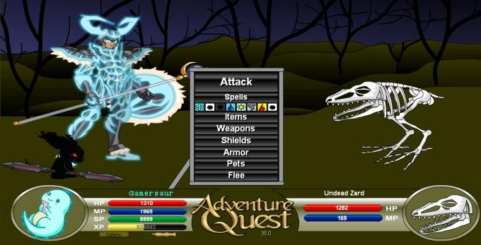 Gamersaur Adventure quest gameplay.jpg