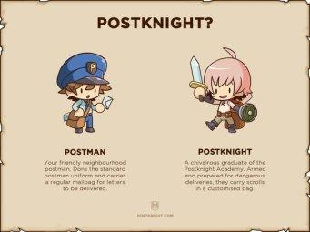 postman vs postknight
